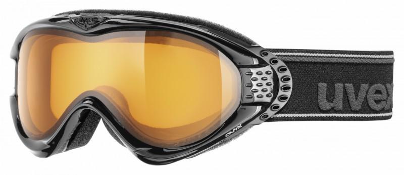 Uvex Onyx damesskibril zwart met een S1 lens