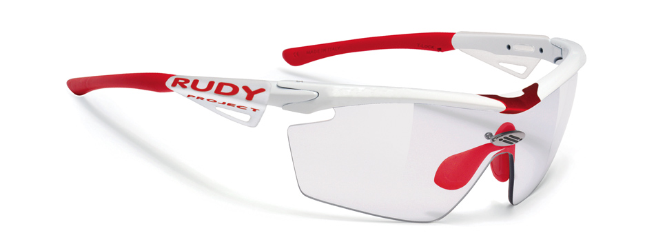 Rudy Project Genetyk Racing White Photochromic Clear-0