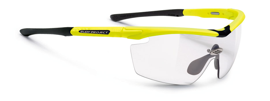 Rudy Project Genetyk Yellow Fluo Gloss Photochromic Clear ImpactX -0