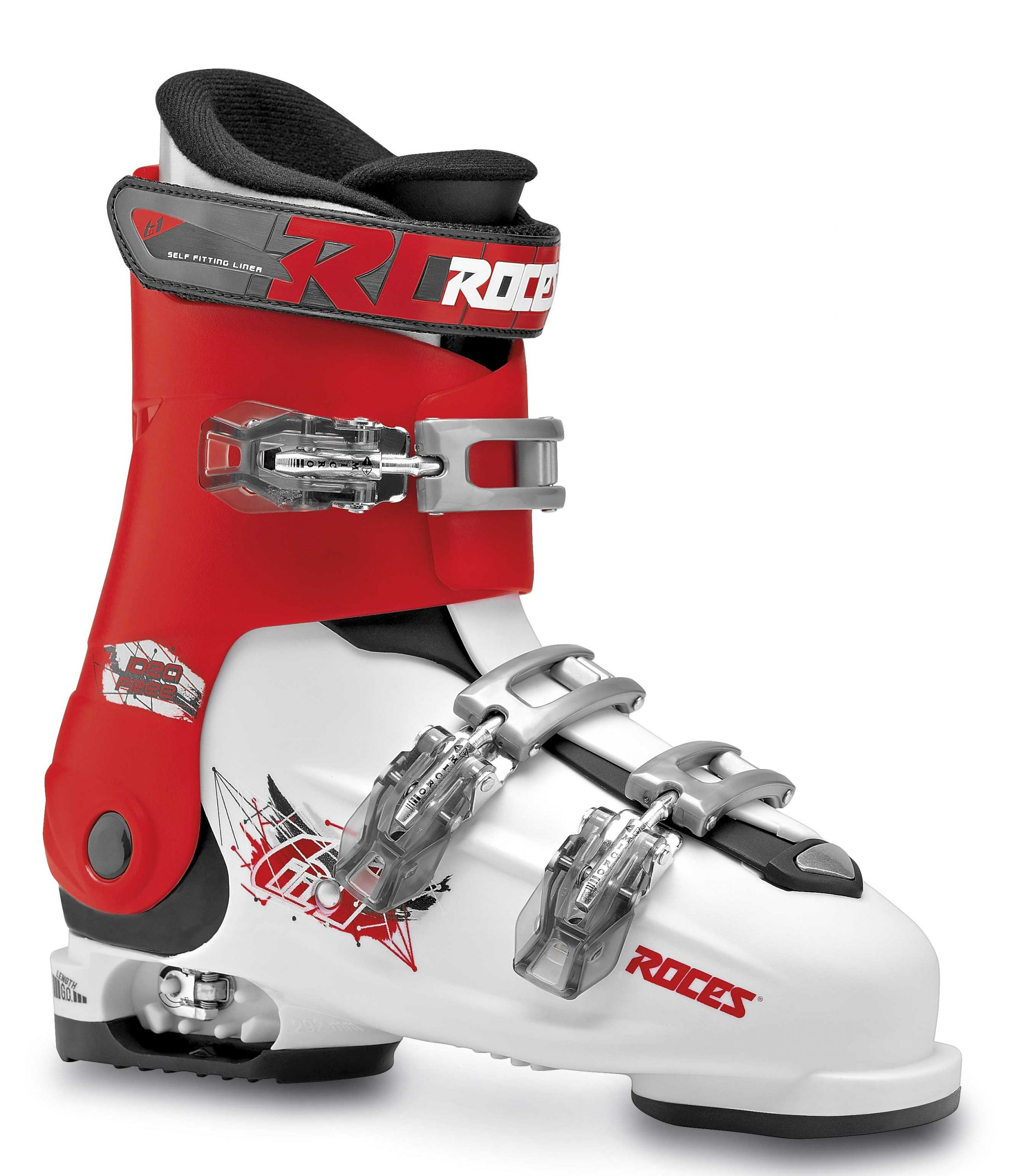 Roces Idea Free White Red Black 36-40