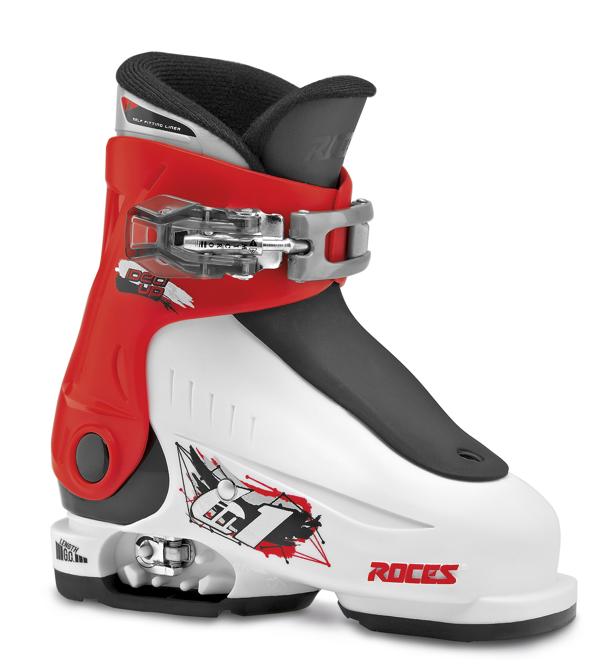 Roces Idea Up White Red Black 25-29