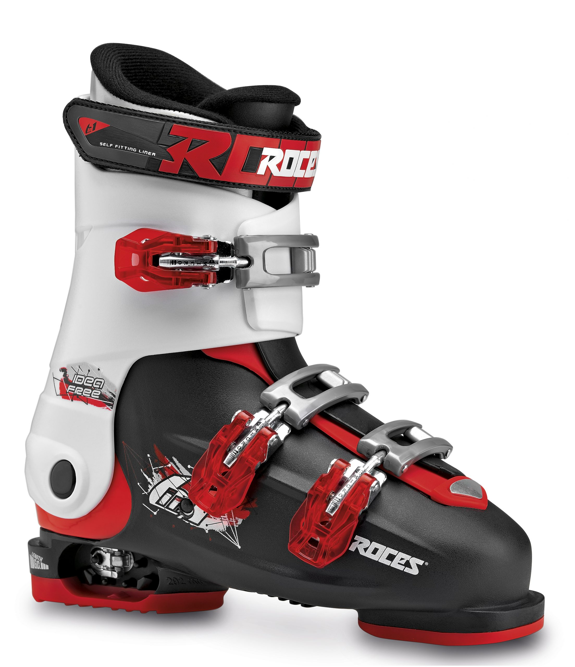 Roces Idea Free Black White Red 36-40