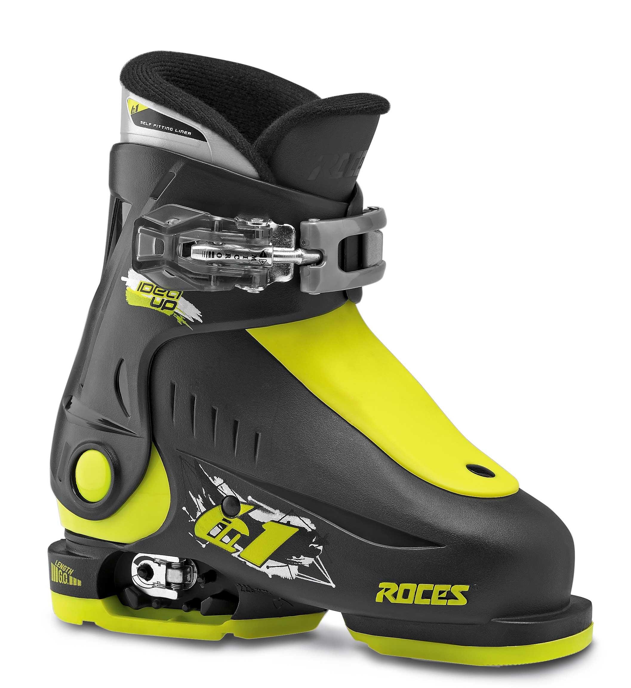 Roces Idea Up Black Lime 25-29