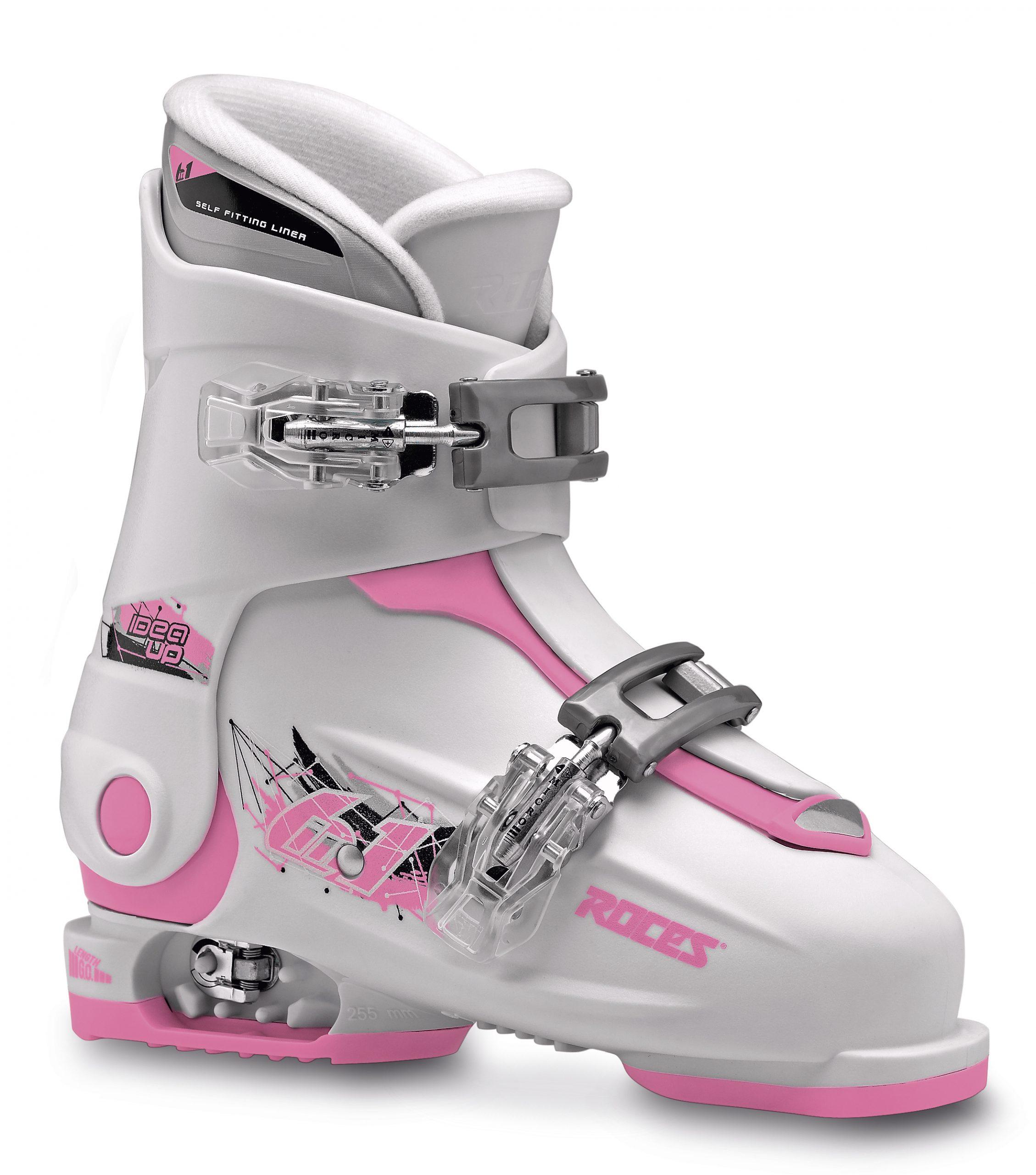 Roces Idea Up White Deep Pink 30-35