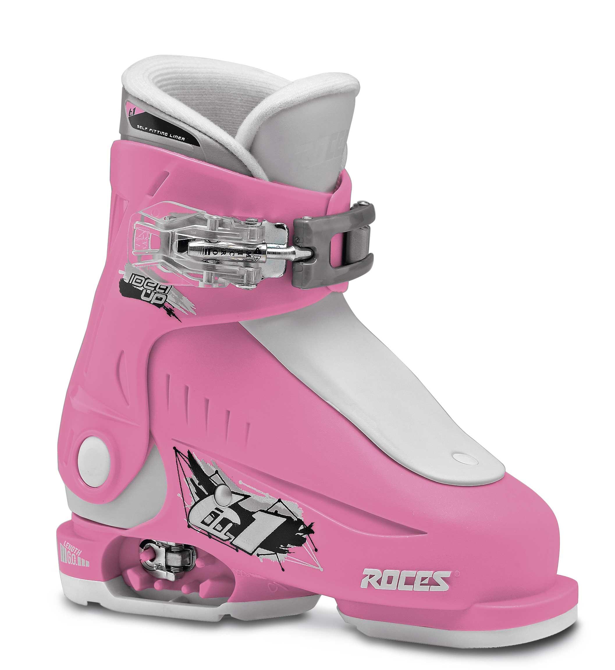 Roces Idea Up Deep Pink White 25-29