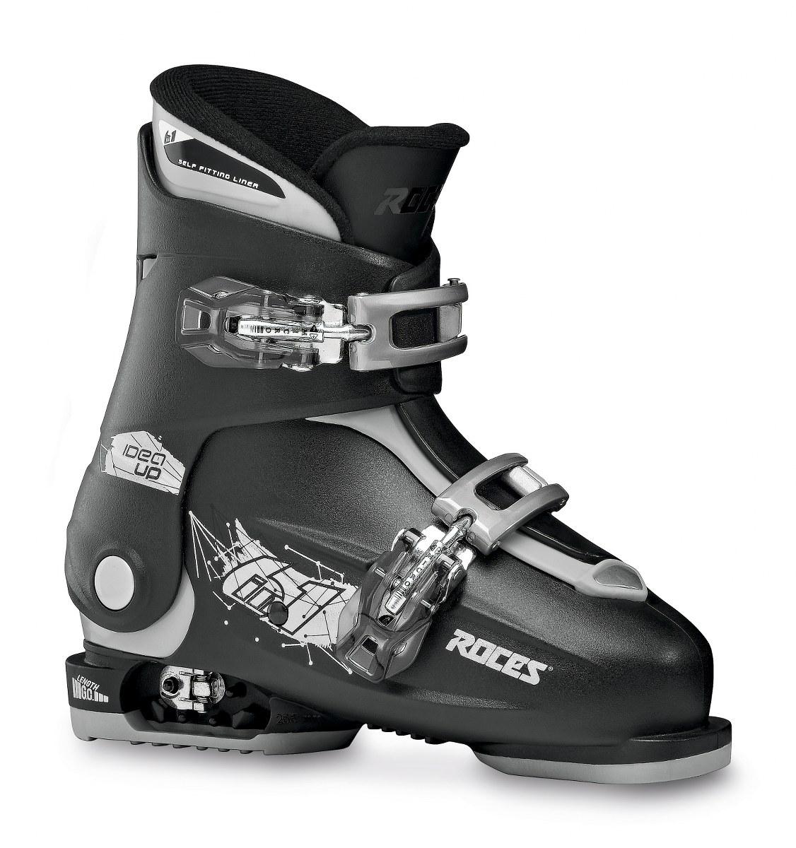 Roces Idea Up Black Silver 30-35