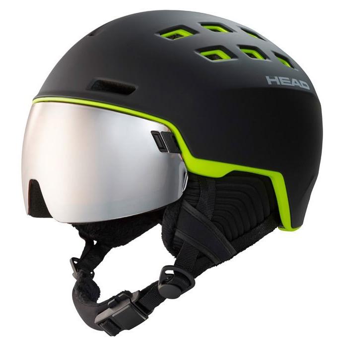 Head Radar Black Lime