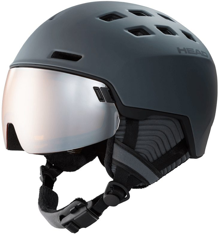 Head Radar vizierhelm Grey