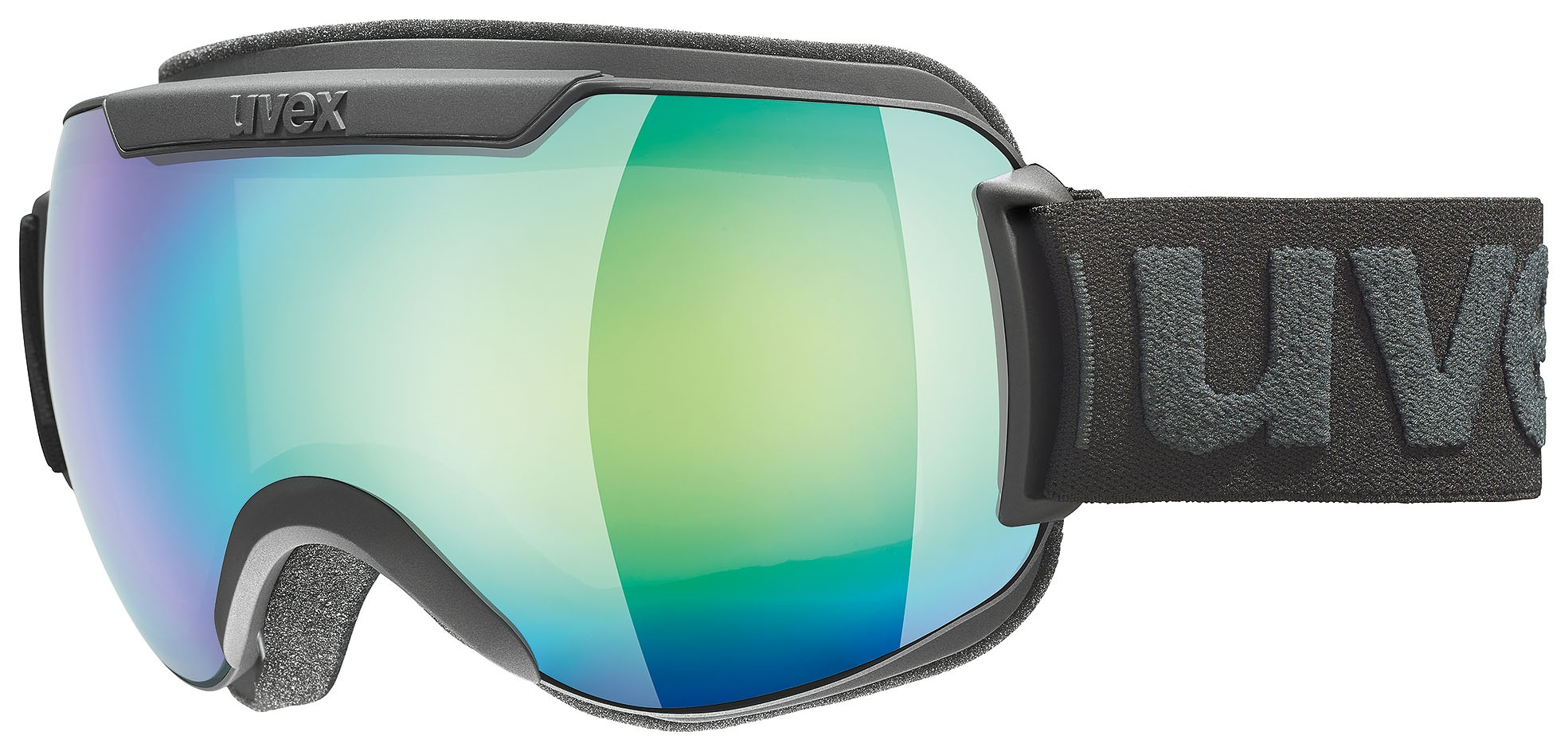 Uvex Downhill 2000 mirror green clear S3 2130