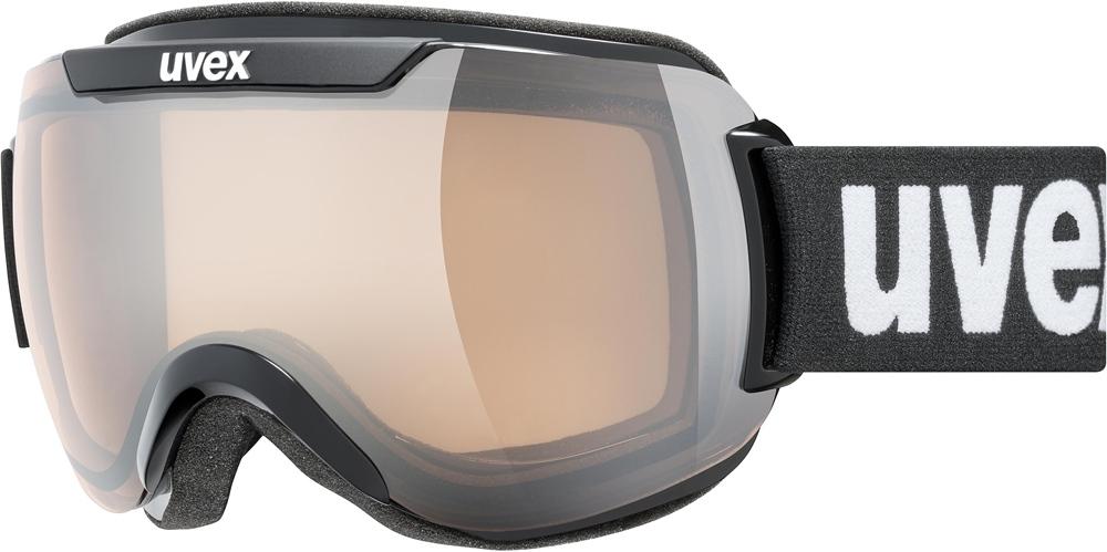 Uvex Downhill 2000 V Black Mat Mirror Silver 2230