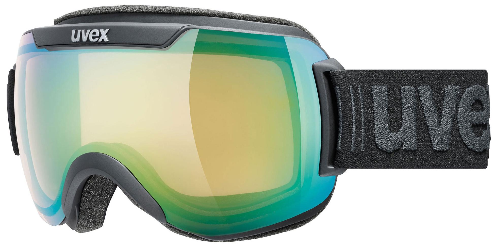 Uvex Downhill 2000 V Black Mat Mirror Green 2130