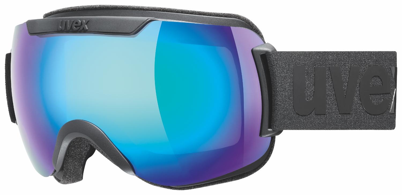 Uvex Downhill 2000 CV Black Mat Mirror Blue ColorVision Green 2030
