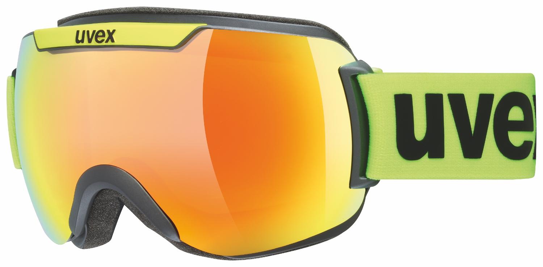 Uvex Downhill 2000 CV Black Mat Mirror Orange ColorVision Green 3030
