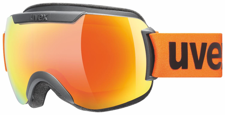 Uvex Downhill 2000 CV Black Mat Mirror Orange ColorVision Orange 2630