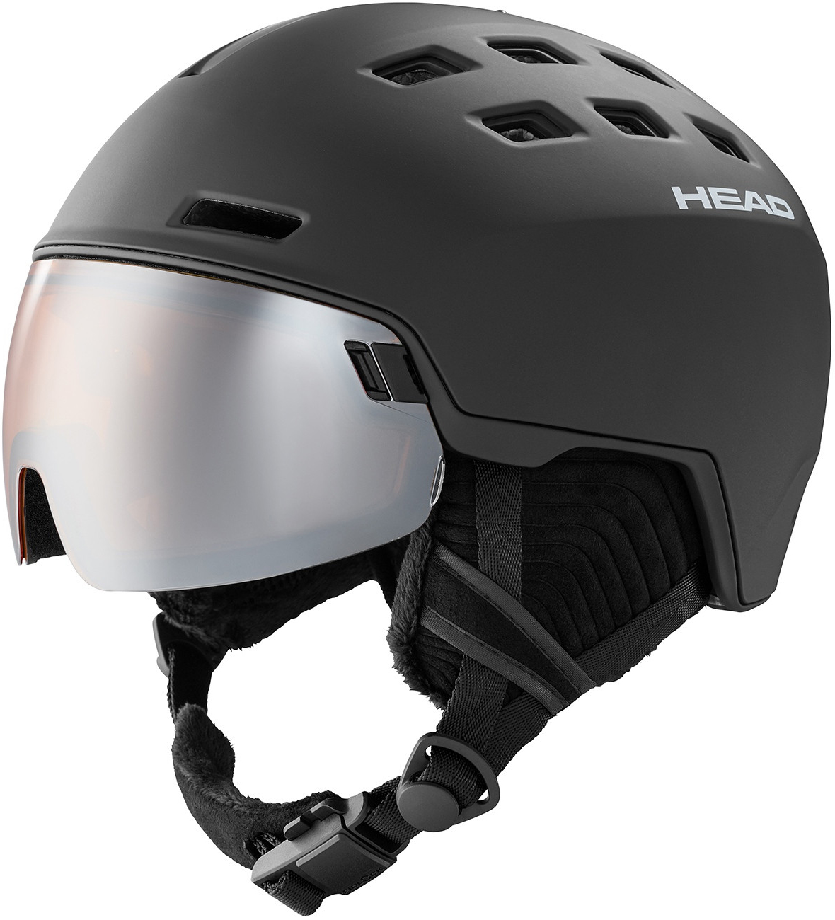 Head Radar vizierhelm black