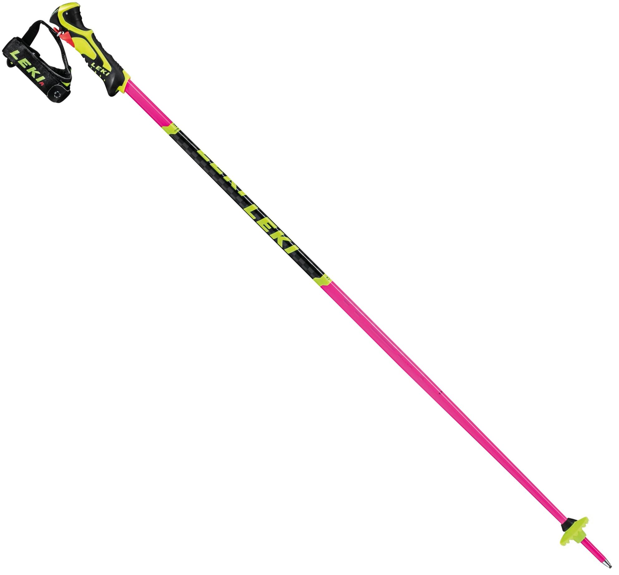 Roze dames skistokken WRC SL Lite 3D Leki