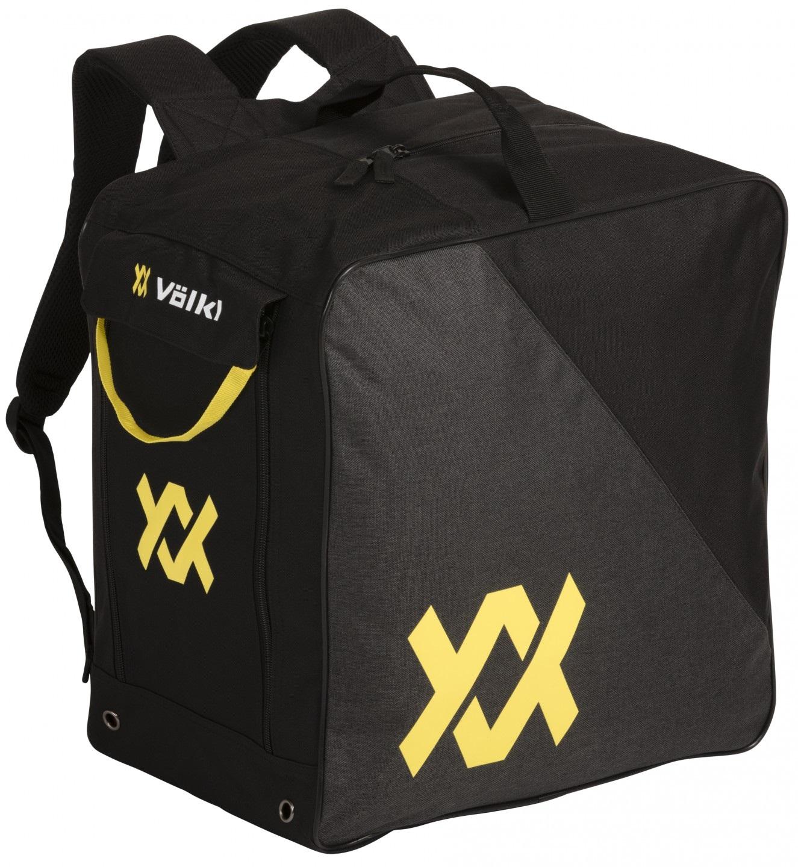 Schoenen en helm tas uitgevoerd als rugzak backpack