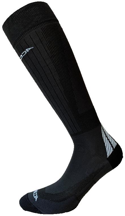 Accapi Ski Racing black-antracite skisokken