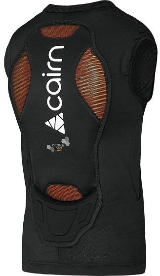 Cairn ProRide D30 Bodyprotector Vest Zwart achterkant