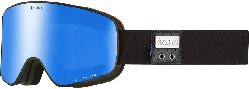 Cairn Magnitude Polarized mat black blue gepolariseerde skibril