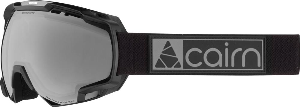 Mercury EvoLight NXT mat black silver skibril meekleurende lens